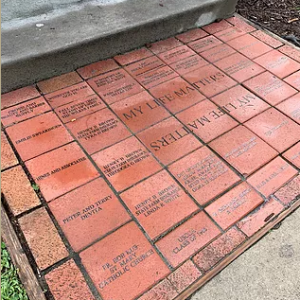 linc inc nc buy a brick campaign walkway