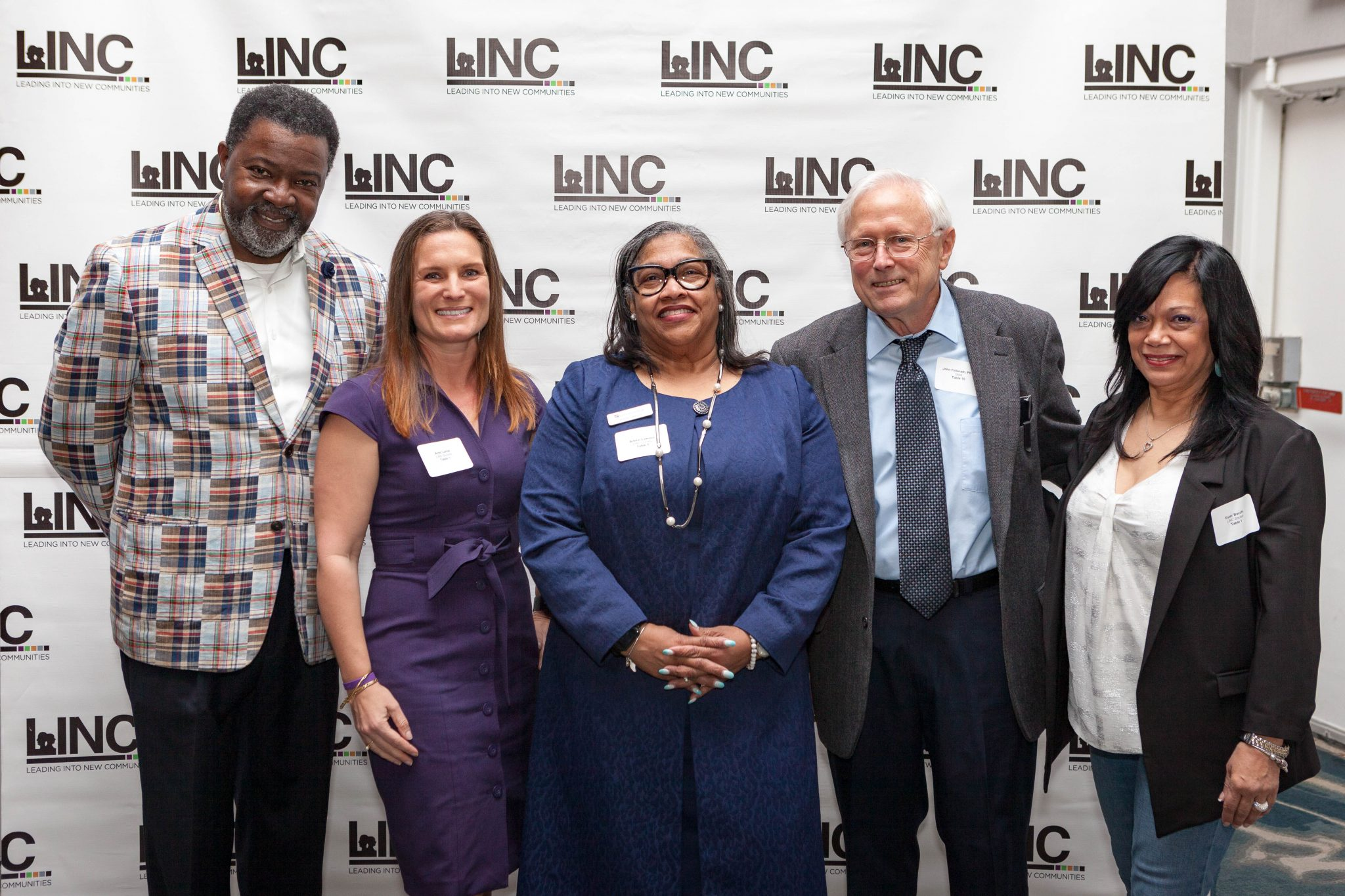 frankie roberts and guests linc inc nc gala event